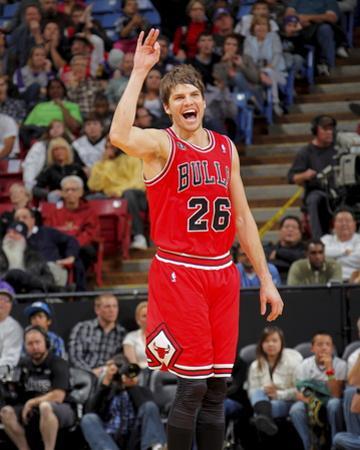 Chicago Bulls v Sacramento Kings: Kyle Korver