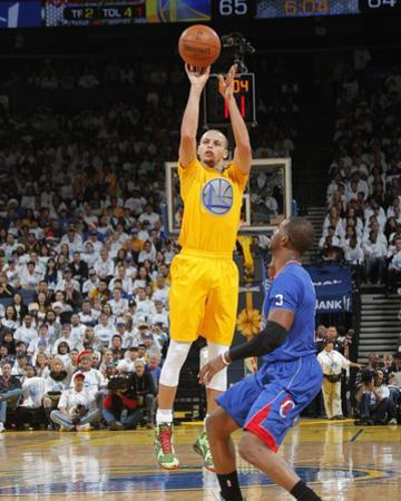 Dec 25, 2013, Los Angeles Clippers vs Golden State Warriors - Chris Paul, Stephen Curry by Rocky Widner