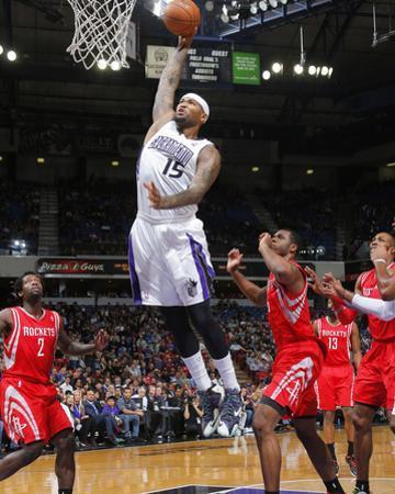 Feb 25, 2014, Houston Rockets vs Sacramento Kings - DeMarcus Cousins