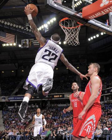 Feb 25, 2014, Houston Rockets vs Sacramento Kings - Isaiah Thomas