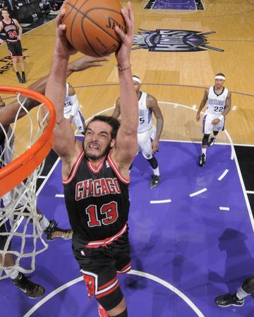 Feb 3, 2014, Chicago Bulls vs Sacramento Kings - Joakim Noah