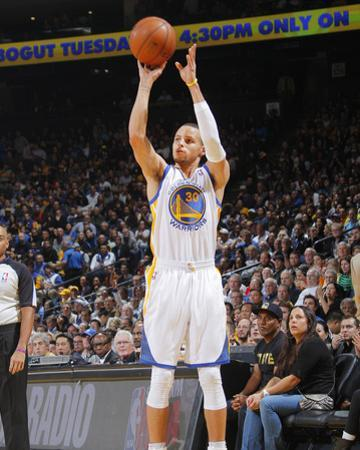 Jan 20, 2014, Indiana Pacers vs Golden State Warriors - Stephen Curry