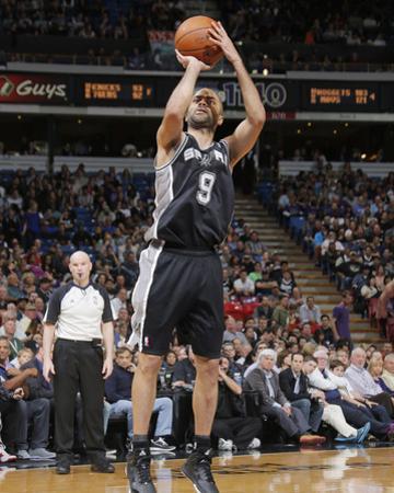 Mar 21, 2014, San Antonio Spurs vs Sacramento Kings - Tony Parker