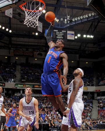 New York Knicks v Sacramento Kings: Amare Stoudemire