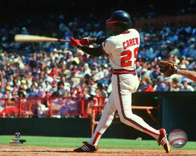 Rod Carew 1983 Action
