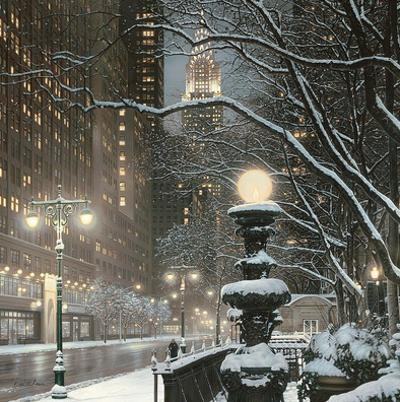 City Lights NYC by Rod Chase