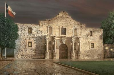 The Alamo by Rod Chase