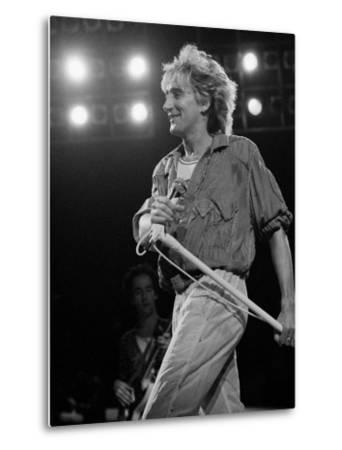 Rod Stewart on Stage at M.S.G