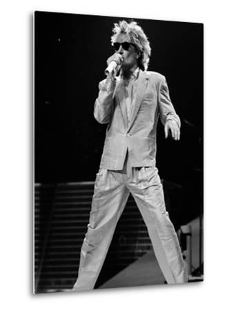 Rod Stewart on Stage at M.S.G