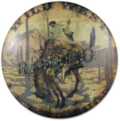 Rodeo Advertising Dome Sign