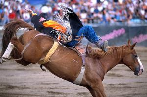 Rodeo in Valleyfield, Quebec, Canada