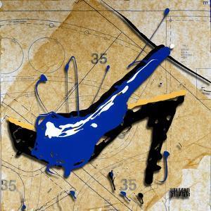Blue Heel by Roderick E. Stevens