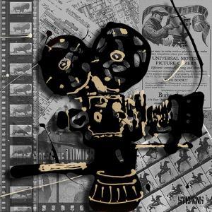 Movie Camera 1 by Roderick E. Stevens