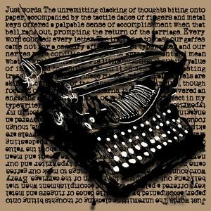 Three-Quarter Typewriter by Roderick E. Stevens
