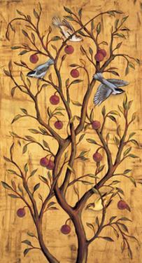 Plum Tree Panel III by Rodolfo Jimenez