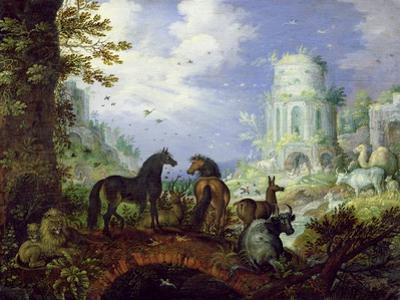 Orpheus Charming the Animals, 1626