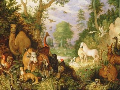 Orpheus Charming the Animals, C.1618