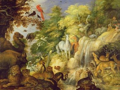 Orpheus with Birds and Beasts, 1622