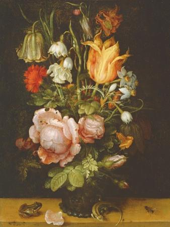 Still Life with Flowers, 1615