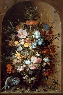 Flower Still Life with Crown Imperial, 1624 by Roelant Savery