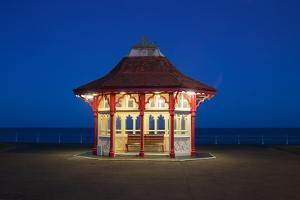 An Edwardian Kiosk on the Seafront Promenade at Bexhill, East Sussex, England by Roff Smith