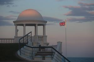 King George V Colonnade on the Seafront at Bexhill, East Sussex, England by Roff Smith
