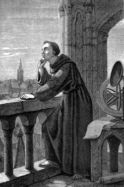 Roger Bacon, English Experimental Scientist, Philosopher and Franciscan Friar, 1867