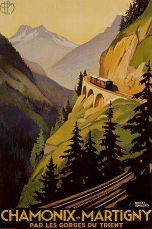 Chamonix-Martigny by Roger Broders