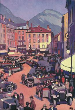 Grenoble, France by Roger Broders
