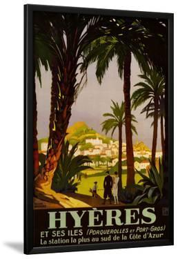 Hyeres by Roger Broders