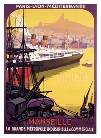 Marseille, Metropole Industrielle by Roger Broders