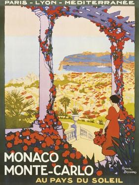 Monte Carlo, Monaco by Roger Broders
