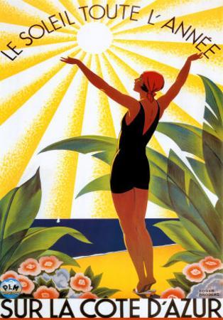 Soleil Toute Lannee by Roger Broders