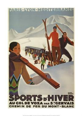 Sports D'hiver by Roger Broders