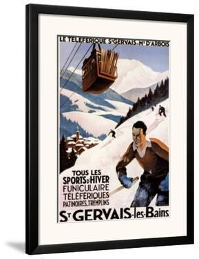 St. Gervais by Roger Broders