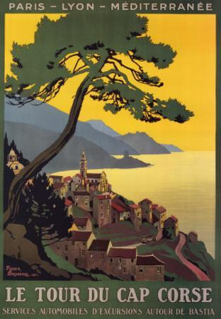 Tour Du Cap Corse by Roger Broders