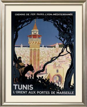 Tunis by Roger Broders