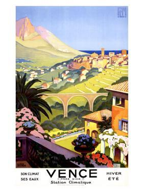 Vence by Roger Broders