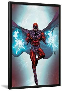 Magneto No.1 Cover: Magneto Flying by Roger Cruz