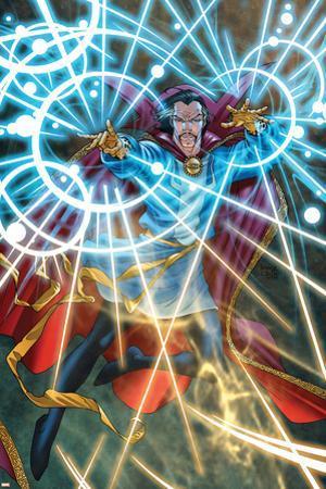Marvel Adventures Super Heroes No.5 Cover: Dr. Strange by Roger Cruz