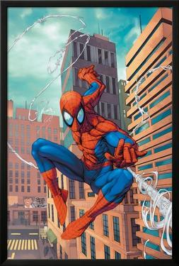 Marvel Age Spider-Man No.18 Cover: Spider-Man by Roger Cruz
