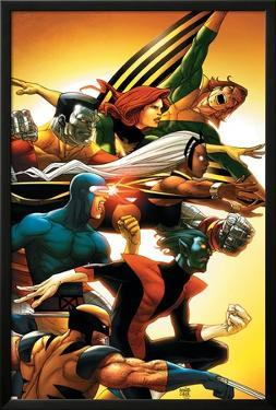 Uncanny X-Men: First Class No.5 Cover: Wolverine by Roger Cruz