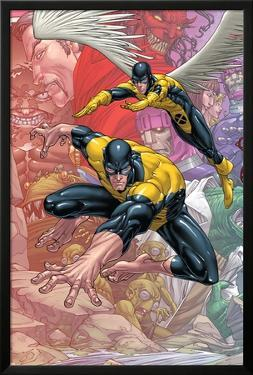 X-Men: First Class Finals No.1 Cover: Beast and Angel by Roger Cruz