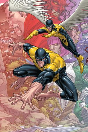 X-Men: First Class Finals No.1 Cover: Beast and Angel