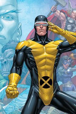 X-Men: First Class Finals No.3 Cover: Cyclops by Roger Cruz