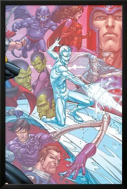 X-Men: First Class Finals No.4 Cover: Iceman by Roger Cruz