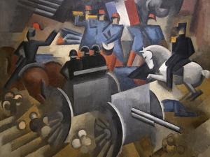 Artillery by Roger de La Fresnaye