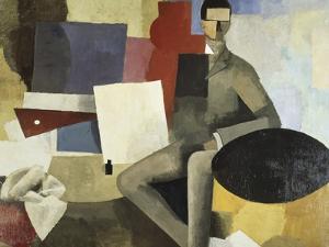 Man Seated by Roger de La Fresnaye