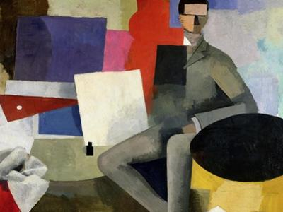 The Seated Man, or the Architect by Roger de La Fresnaye