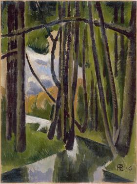 Undergrowth, 1910 by Roger de La Fresnaye